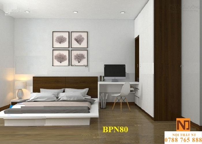 bộ nội thất phòng ngủ đẹp, nội thất phòng ngủ hiện đại, nội thất gỗ công nghiệp