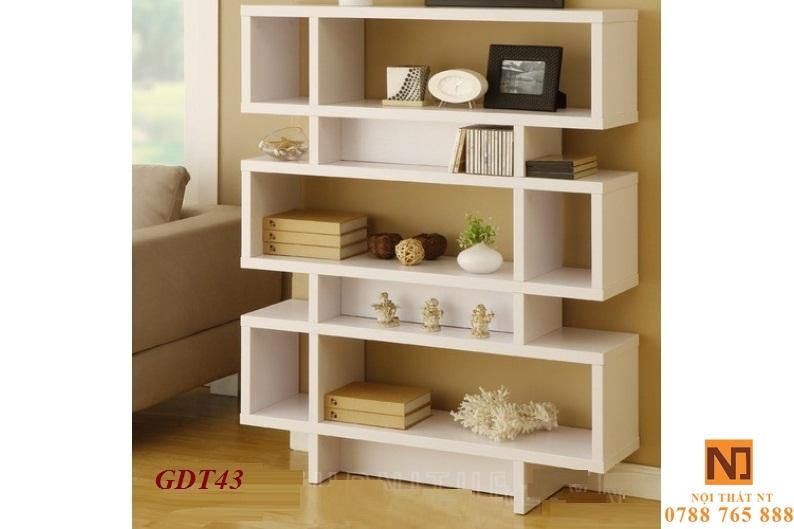 giá sách đẹp, giá sách hiện đại, giá sách treo tường, giá sách gỗ công nghiệp