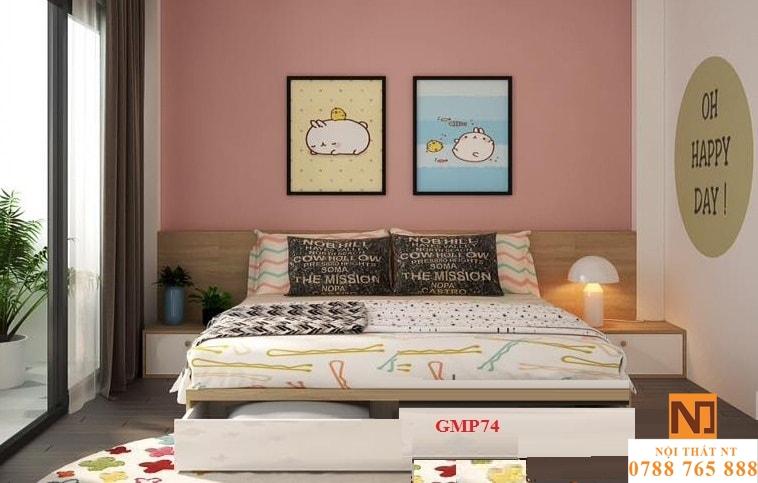 giường ngủ đẹp, giường giá rẻ, giường ngăn kéo