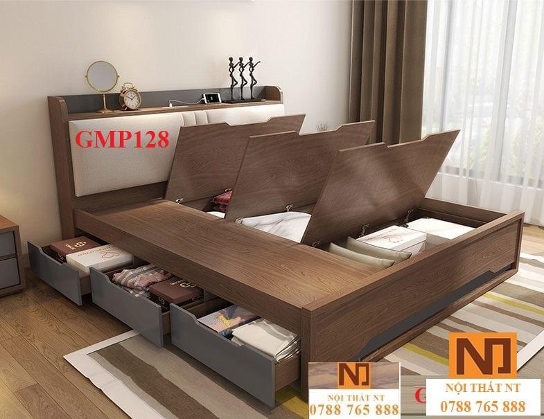 giường ngủ đẹp, giường thông minh, giường ngăn kéo