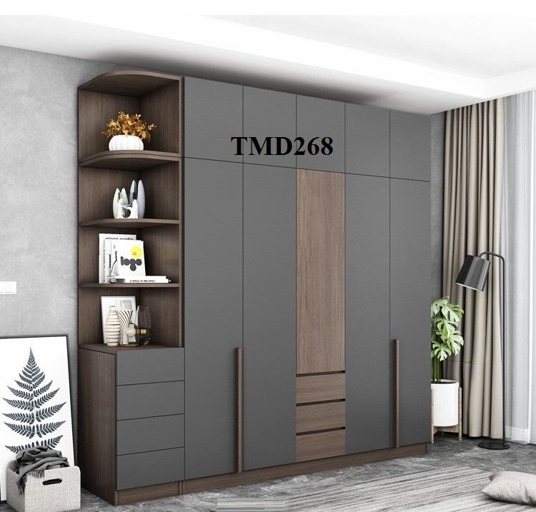 Tủ quần áo hiện đại, tủ quần áo giá rẻ, tủ quần áo gỗ công nghiệp