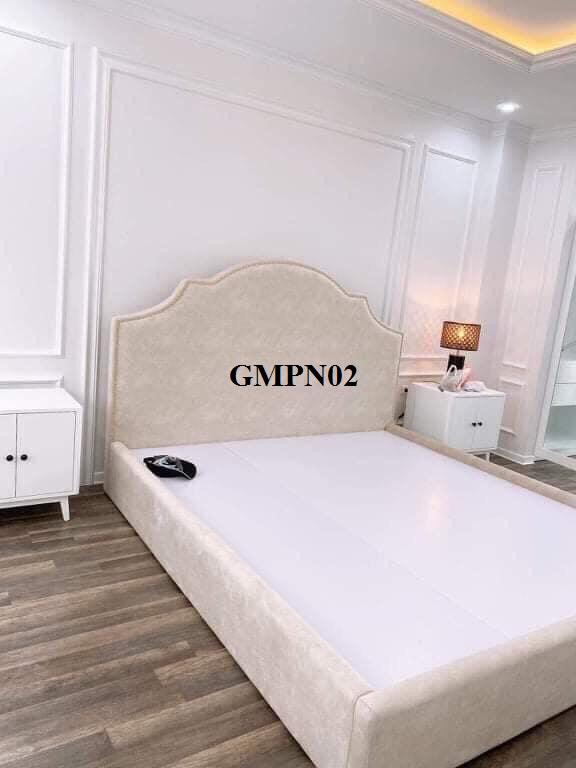giường bọc nỉ, giường hiện đại, giường tân cổ, giường đẹp