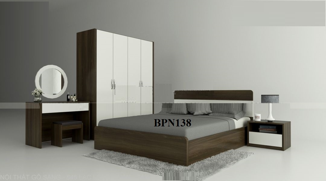 nội thất đẹp, nội thất phòng ngủ gỗ công nghiệp, nội thất hiện đại