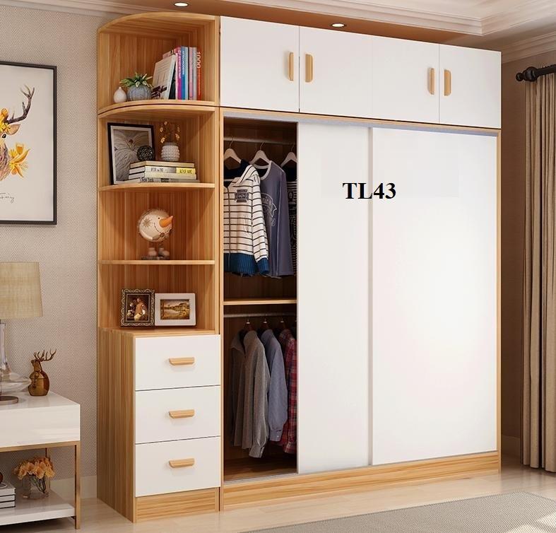 tủ quần áo cánh lùa, tủ lùa, tủ gỗ công nghiệp, tủ quần áo giá rẻ, tủ quần áo hiện đại